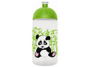 FreeWater plastová lahev 0,5l Panda transparentní