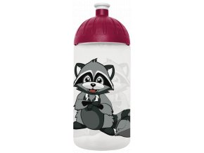 FreeWater plastová lahev 0,5l Mýval transparentní