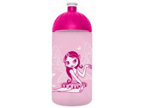 FreeWater plastová lahev 0,5l Víla růžová