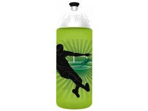 FreeWater plastová lahev 0,7l Fotbalista zelená