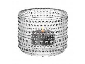 Iittala - svícen na čajovou svíčku  KASTEHELMI čirý