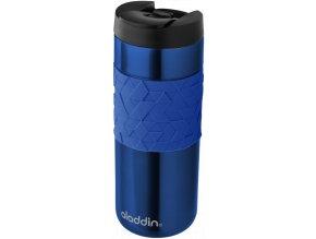 Aladdin - nerezový termohrnek Easy-Grip Leak-Lock 470 ml modrý