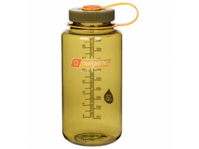 NALGENE - láhev na pití Wide Mouth 1000 ml Olive