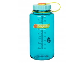 NALGENE - láhev na pití Wide Mouth 1000 ml Cerulean