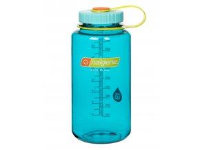 NALGENE - láhev na pití Wide Mouth 1000 ml Cerulean