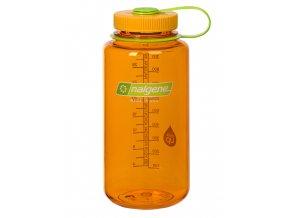 NALGENE - láhev na pití Wide Mouth 1000 ml Clementine