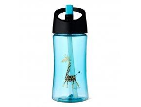 Carl Oscar dětská lahev 350 ml tyrkysová žirafa