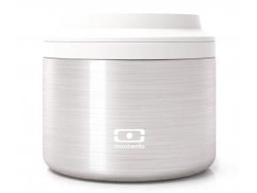 Monbento termoska na jídlo MB Element silver