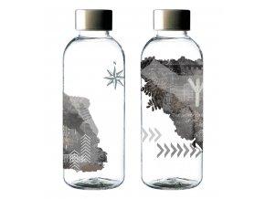 Carl Oscar lahev na pití WisdomFlask šedá 0,65l