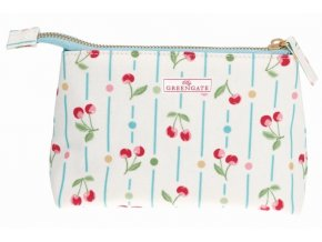 Green Gate kosmetická taška Cherry White S