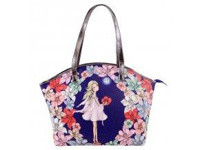 SANTORO taška Shopper Bag Mirabelle Midnight Garden