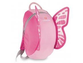 LittleLife dětský batoh Big Daysack Butterfly