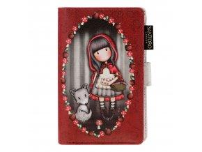 SANTORO - menší peněženka Gorjuss Little Red Riding Hood