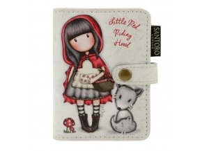SANTORO - pouzdro na karty Gorjuss Little Red Riding Hood