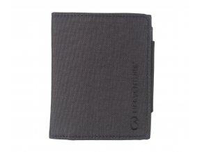 Lifeventure peněženka RFiD Protected Tri-Fold šedá
