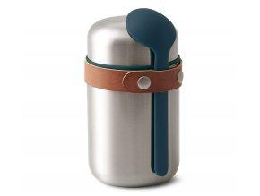BLACK-BLUM termoska na jídlo Food Flask 400ml oceánově modrá