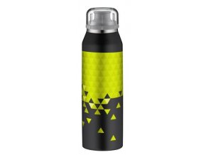 Alfi - inteligentní termoska Style black-lime 0,5l