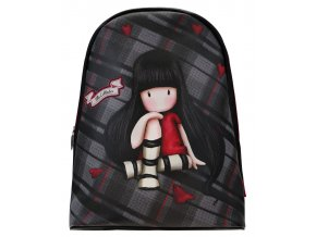 844GJ02 Gorjuss Tartan Fashion Rucksack The Collector 1 WRSANTORO batoh Gorjuss Tartan Fashion Rucksack  The Collector