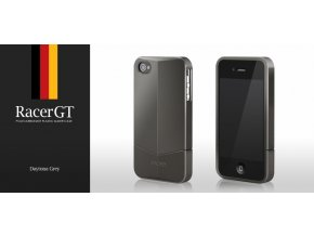 MORE Racer GT Daytona Grey - kryt na iPhone 4/4S