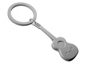 MTM - klíčenka kytara mat