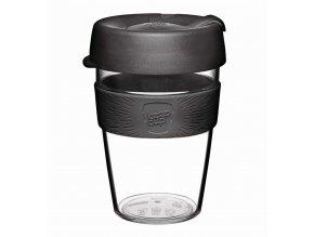 KeepCup - skleněný hrnek Brew Black Medium