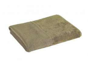 Möve - bambusový ručník šedozelený