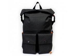 PKG batoh DRI Rolltop Backpack černý