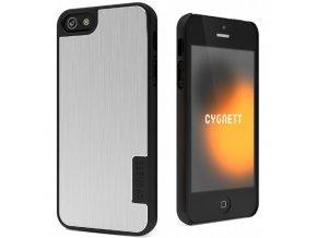 Cygnett UrbanShield Hard Case - kryt na iPhone 5 -Silver Storm
