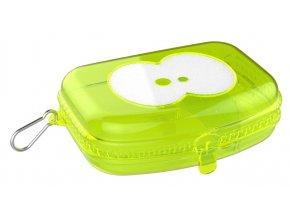 FRUITFRIENDS svačinový box zelený transparentní