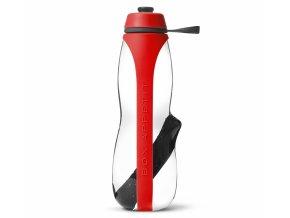 BLACK-BLUM - filtrační láhev na vodu Eau Good Duo 700 ml červená
