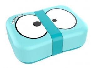 FRUITFRIENDS svačinový box modrý s gumičkou