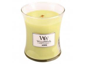 WoodWick - vonná svíčka ve skle jasmín 275 g