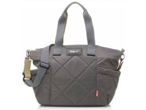 Babymel - multifunkční kabelka Evie Quilted Grey 1