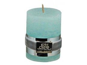 Lene Bjerre - svíčka Rustic - cool mint 6 cm