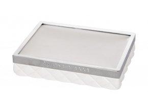 Lene Bjerre - Portia - podložka pod mýdlo bílá