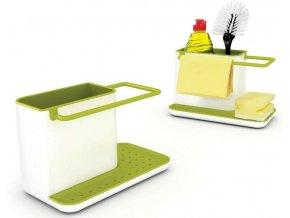 Joseph Joseph - Kuchyňský stojánek na mycí prostředky Caddy, bílý/zelený
