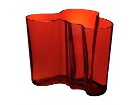 Iittala - váza Alvar Aalto 160 mm červená