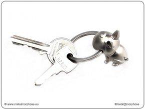 MTM - klíčenka Buldog zakouslý