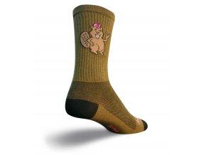 SockGuy - ponožky Bucky beaver