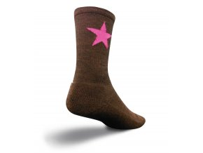 SockGuy - ponožky Wooligan Pink star