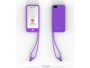 Tin Tip Tie pouzdro pro iPhone 5 fialové