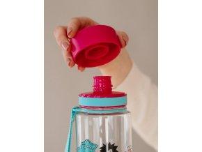 EQUA - dětská láhev na vodu Monsters 0.6 l
