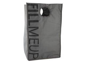 Zone - koš na prádlo Confetti šedý