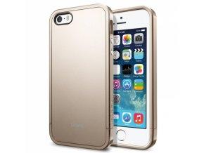 Spigen - obal Linear Metal Gold iPhone 5 zlatý