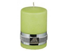 Lene Bjerre - svíčka Basic jablkově zelená 6 cm