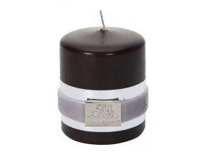 Lene Bjerre - svíčka Basic hnědá 6 cm