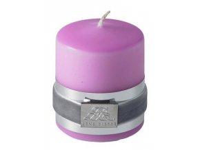 Lene Bjerre - svíčka Basic růžová 6 cm