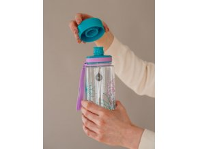 EQUA - láhev na vodu Flowers 0.4 l
