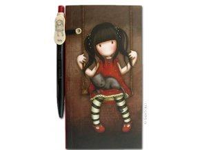 SANTORO - zápisník s tužkou - RUBY