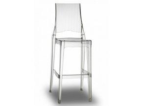 SCAB - barová plastová židle GLENDA